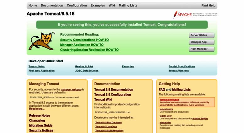 tomcat 8.0.15