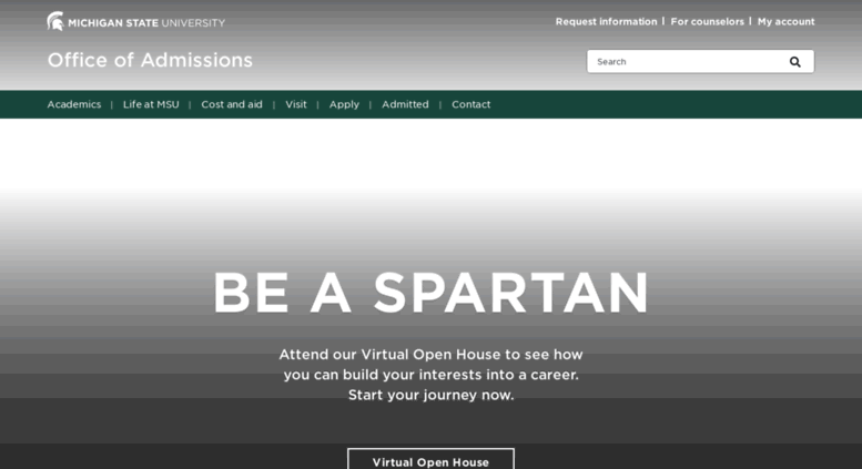 michigan state university admission