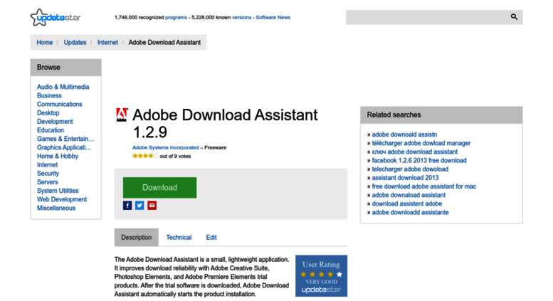 what is adobe download assistant