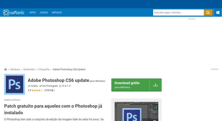 adobe photoshop cs6 full version free download softonic