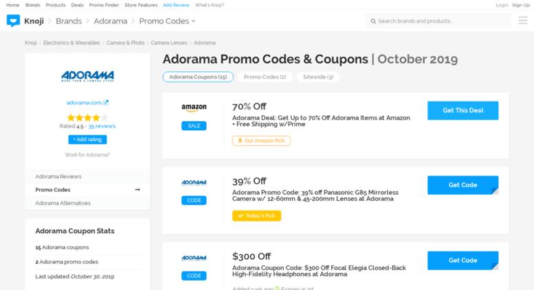 adorama coupon code