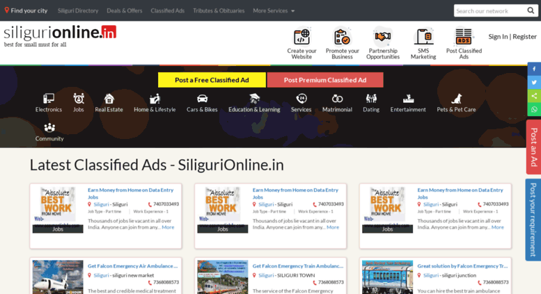 Siliguri Dating-Website