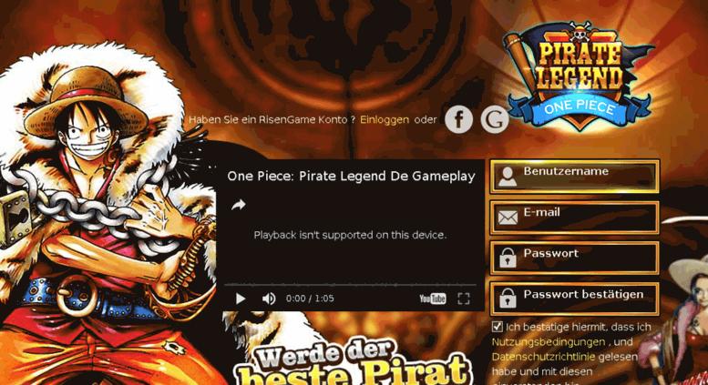 12fd3e035 Access adv-legend.risengame.com. One Piece Online 2 Deutsch  Pirate ...