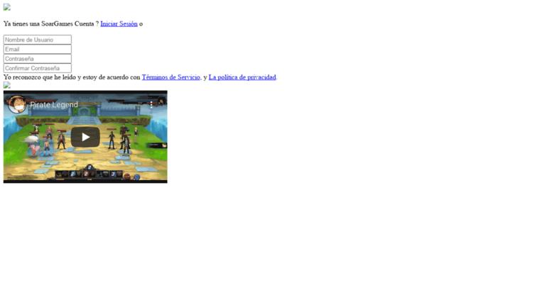 7257081ec Access adv-legend.soargames.com. One Piece Online 2 Español  Pirate ...
