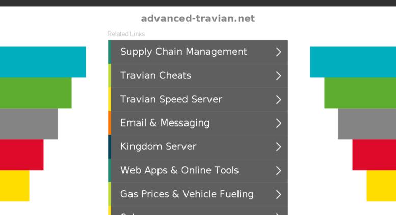 Access advanced-travian net  advanced-travian net