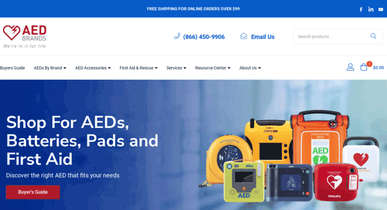 Access aedbrands com  AED Brands | Automated External