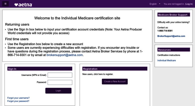 Access aetna cmpsystem com  Aetna: Login to the site