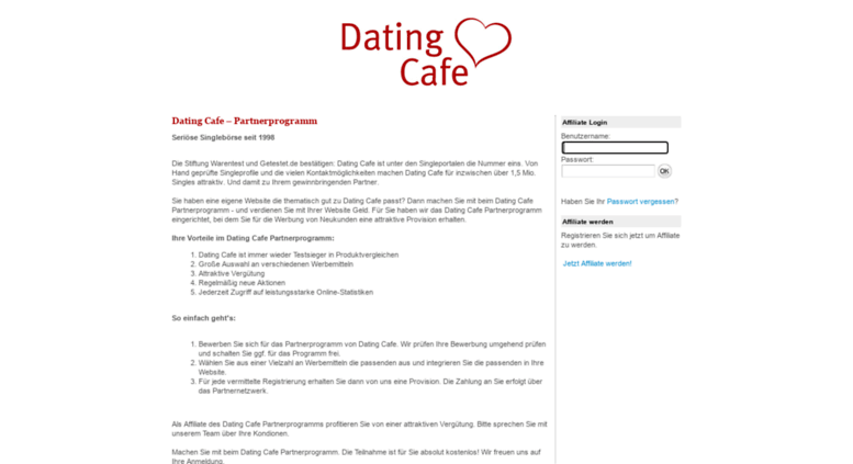 datingcafe de login