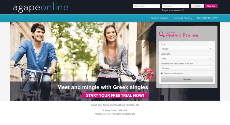 Find you match with a Greek dating site