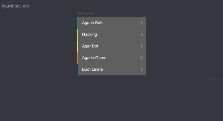 Access agariobot net