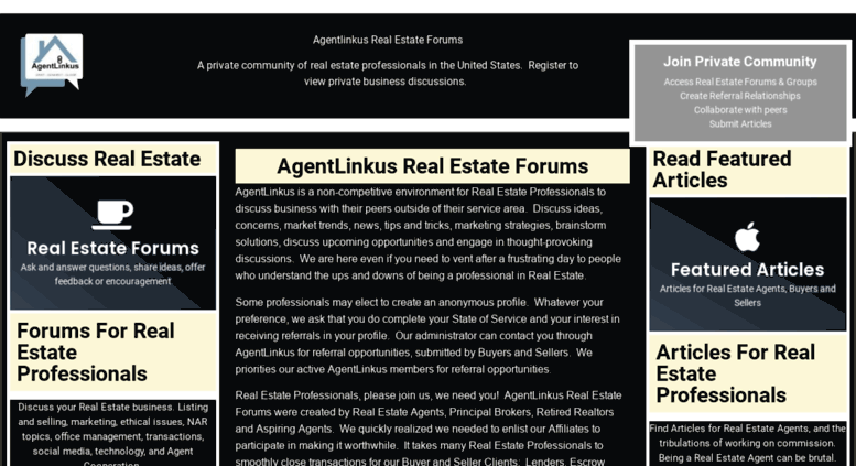 Image result for real estate discussion forum
