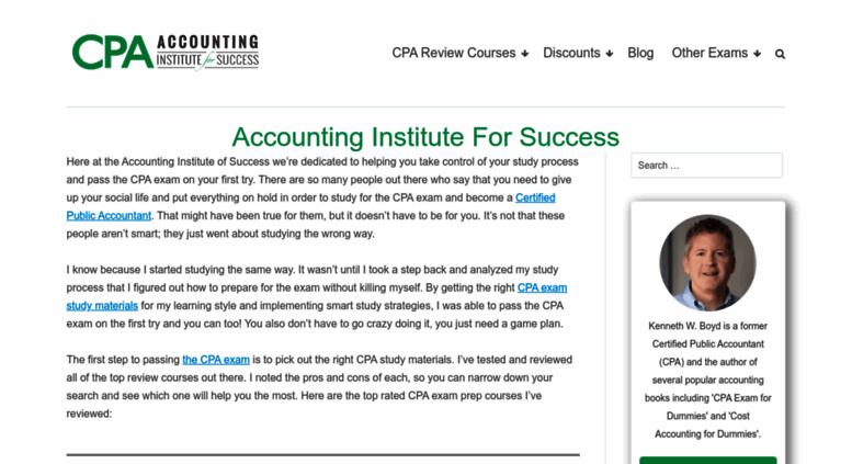 Access ais-cpa com  Compare CPA Exam Review Courses