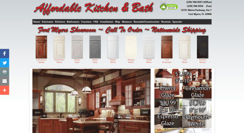 Access akb-ftm.com. Affordable Kitchen and Bath, Fort Myers ...