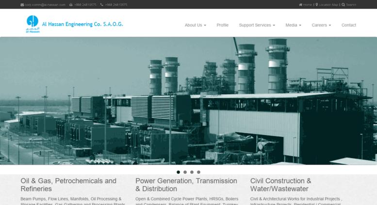 Access al-hassan com  Al Hassan Engineering Co  SAOG (AHEC