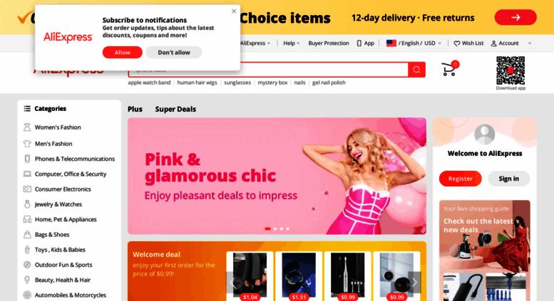 9d0675a1a Access aliexpress.com. AliExpress.com - Online Shopping for Popular ...