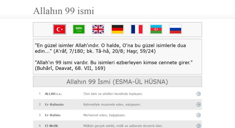 Access Allahin99ismi ALLAHIN 99 SM Esma L Hsna