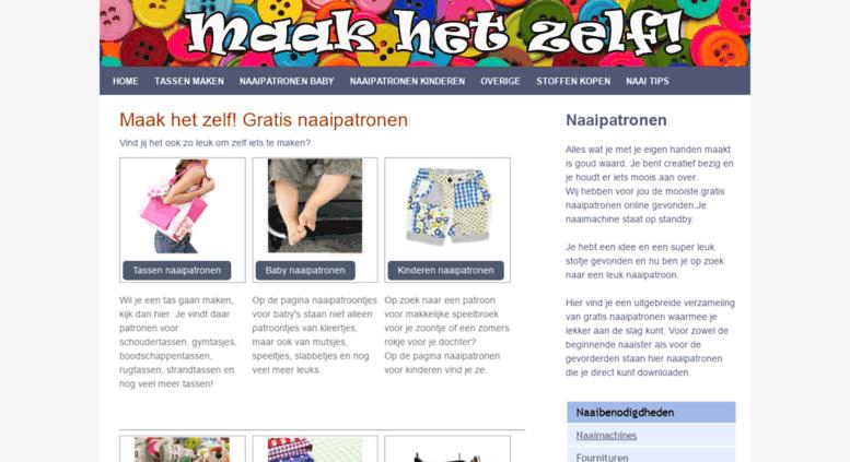 access allesoverhandwerken.nl. zelf iets maken is leuk   gratis