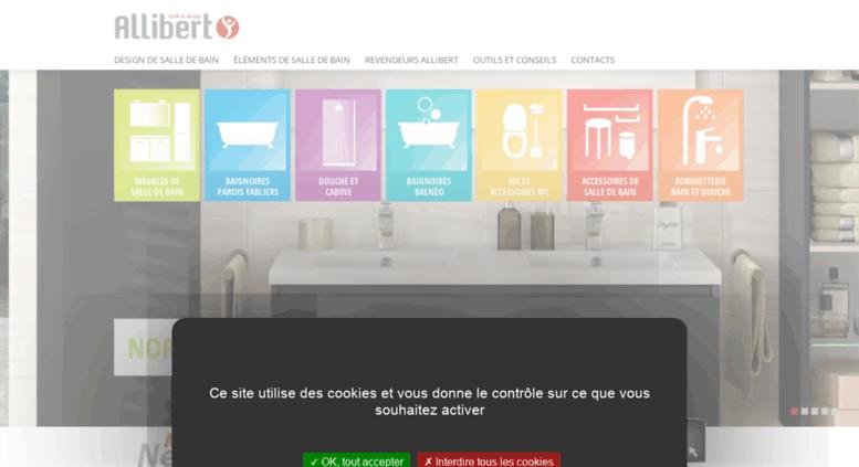 Access allibert.fr. .Allibert - Créateur de Salle de Bains ...