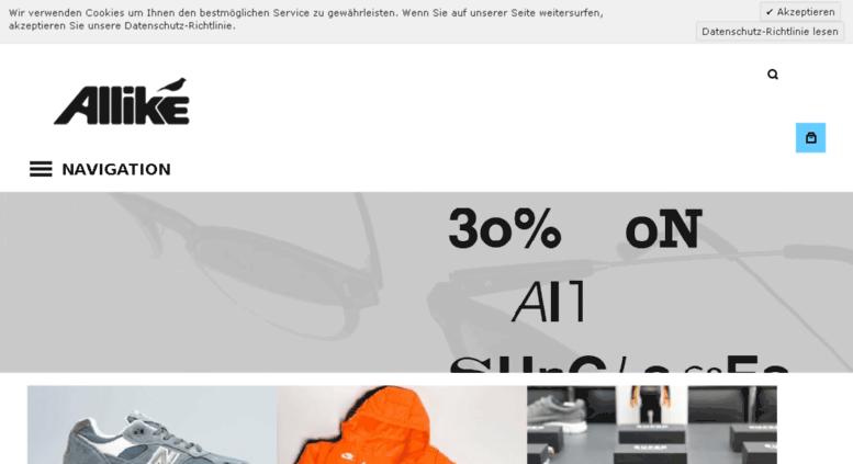 Access . Allike Online Shop: Sneakers & Streetwear