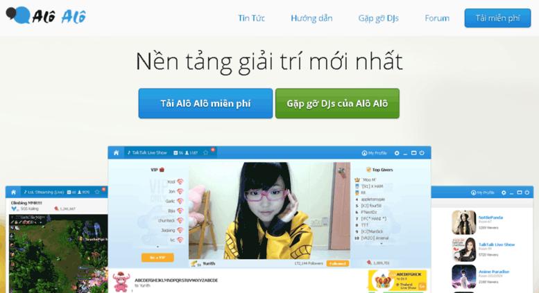 aloalo.garena.vn screenshot