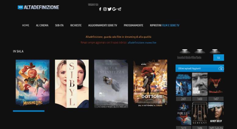 Access Altadefinizioneclub Altadefinizione Film Streaming Hd