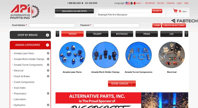 Access altparts com  Amada America Parts - Top Amada Punch