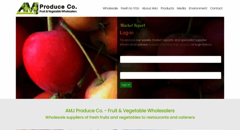 Access amjproduce com au  Fruit & Vegetable Wholesalers Adelaide