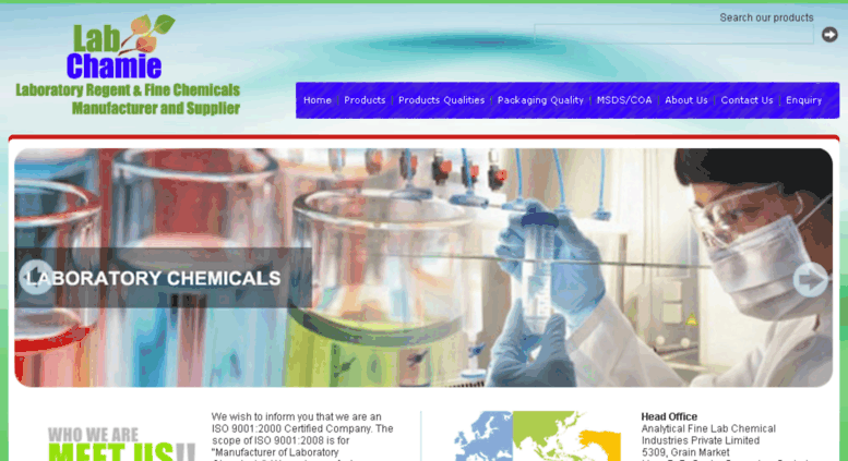 Access analyticallabchemicals com  laboratory chemicals, hplc