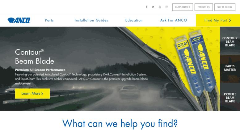 Anco Wiper Blades >> Access Ancowipers Com Anco Wiper Blades The Best