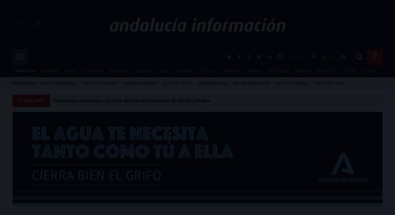 Access andaluciainformacion.es. Andalucía Información ... on