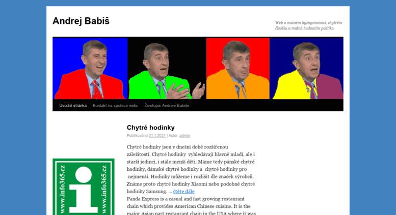 Access Andrej Babis Cz Andrej Babis Cz