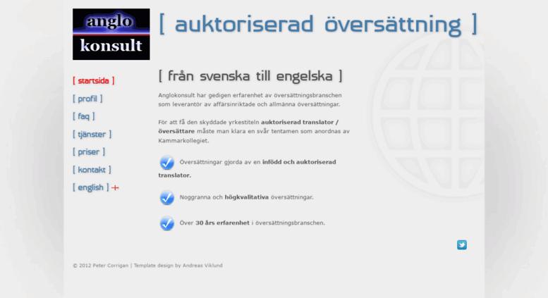 översättning svenska till engelska pris