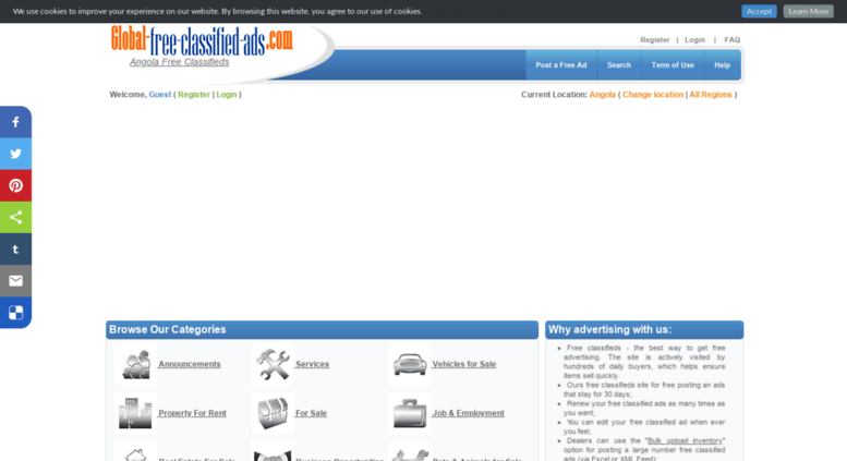Access angola global-free-classified-ads com  Free classifieds in