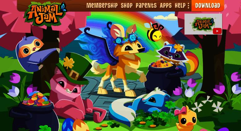 Access animaljam com  Animal Jam   Fun Online Animal Game