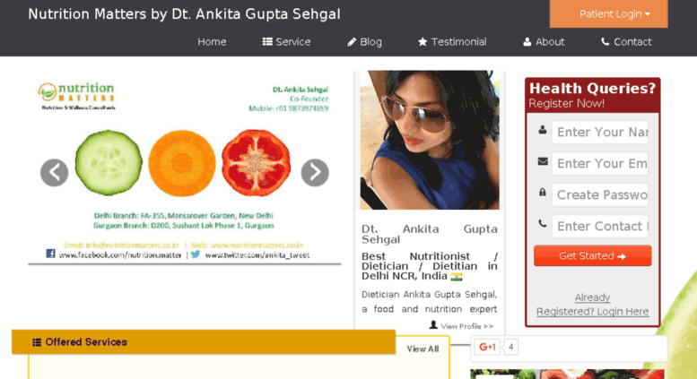 Access ankitagupta zest md  Best Dietician Nutritionist in