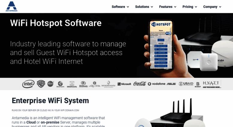 Access antamedia com  HotSpot Software, Hotel WiFi, Guest