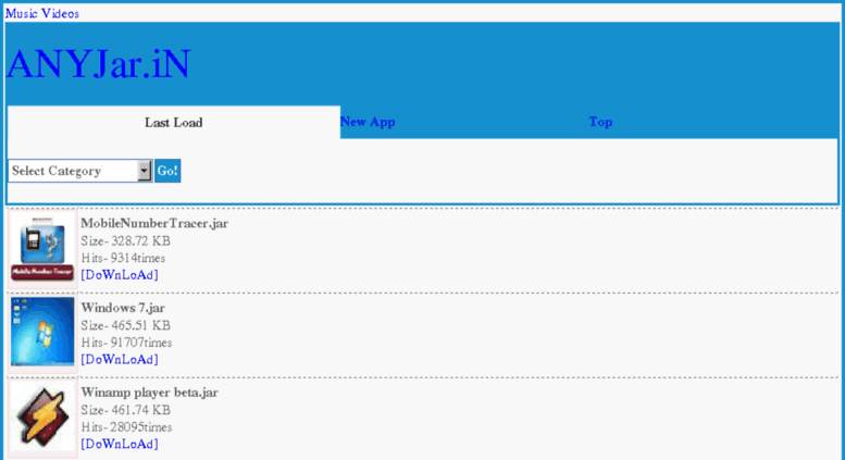 Access anyjar in  Free Java Apps for download|Nokia,Samsun