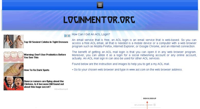 Access aol loginssupport org