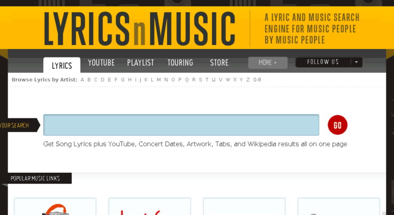 Access api lyricsnmusic com  LYRICSnMUSIC COM — A Lyric and