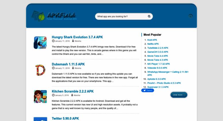 Access apkfield com  APKField - Direct Android APK