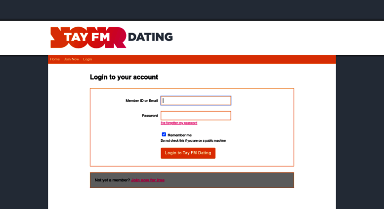 Tay fm dating prijava
