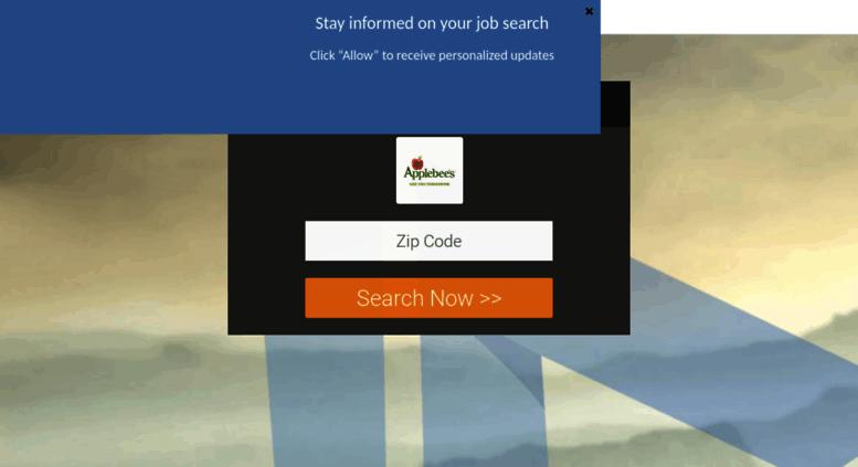 applebeesjob apporg screenshot