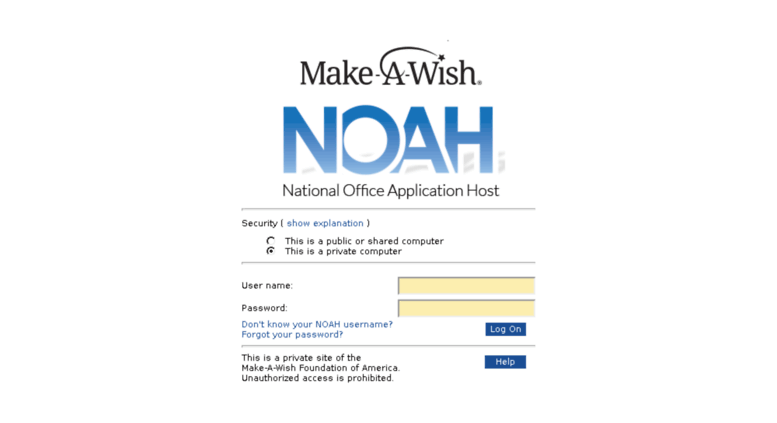Access apps.wish.org. Make A Wish Foundation of America | National