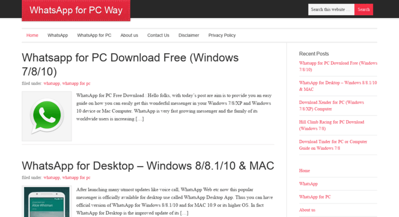 pc whatsapp app download windows 8