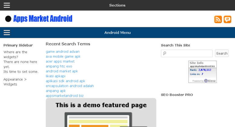 Access appsmarketandroid biz  Free Android Apps Market App Apk Sdk