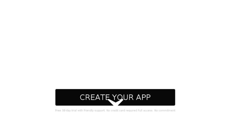 Access archilapp goodbarber com  GoodBarber | Create apps with the