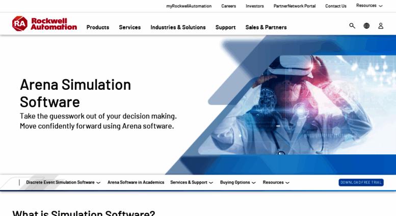Access arenasimulation com  Arena Simulation