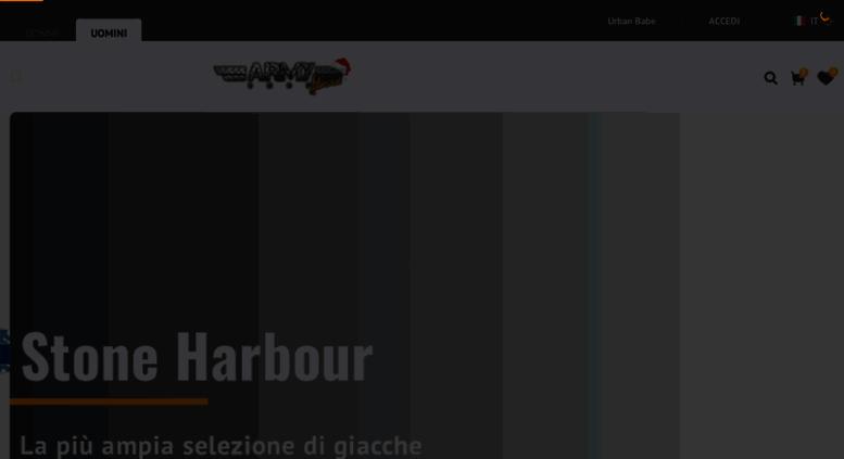 Access army-shop-admiral.it. Army Shop Admiral  58e1e8ca441