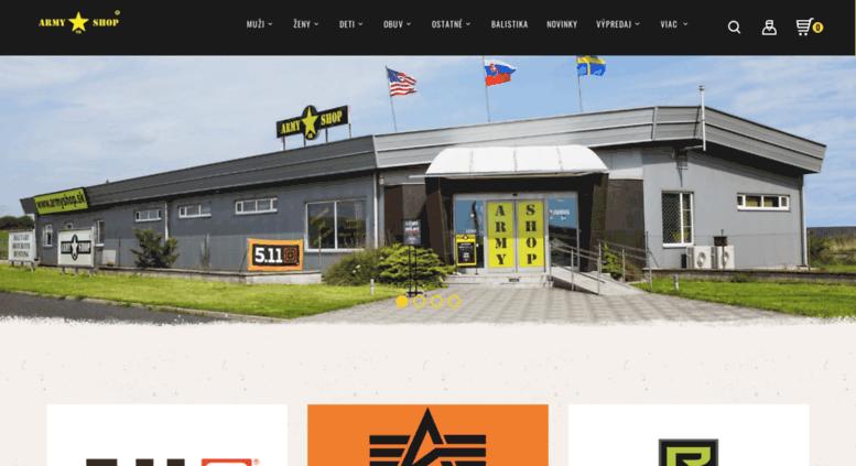 fb7648e19e5f Access armyshop.sk. ARMY SHOP SK - Najväčší ARMY SHOP na Slovensku