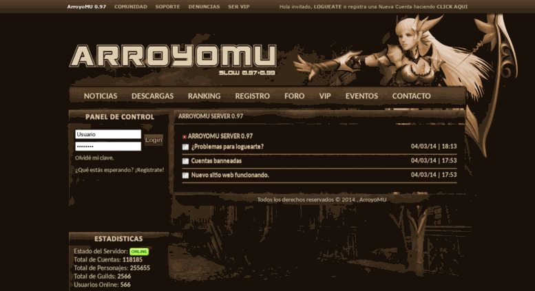 arroyomu server 1